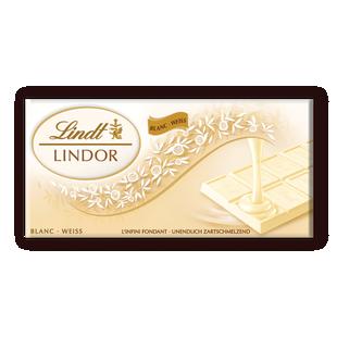 Lindor Бял шоколад 100 г