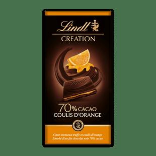 Lindt Creation Мус 70% Портокал 150 г