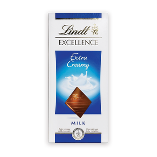 Lindt Excellence Екстра млечен 100 г