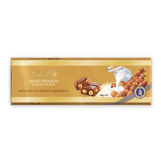 Lindt Gold Млечен с Лешник 300 г