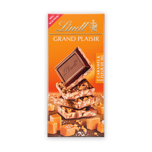 Lindt Grand Plaisir Карамел и морска сол 150 г