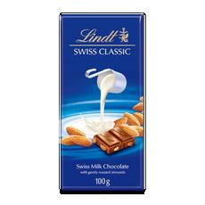 Lindt Swiss Classic Млечен Бадем 100 г