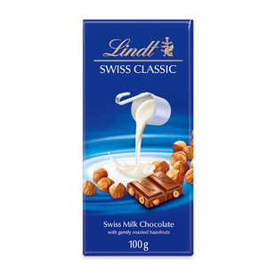Lindt Swiss Classic Млечен Лешник 100 г